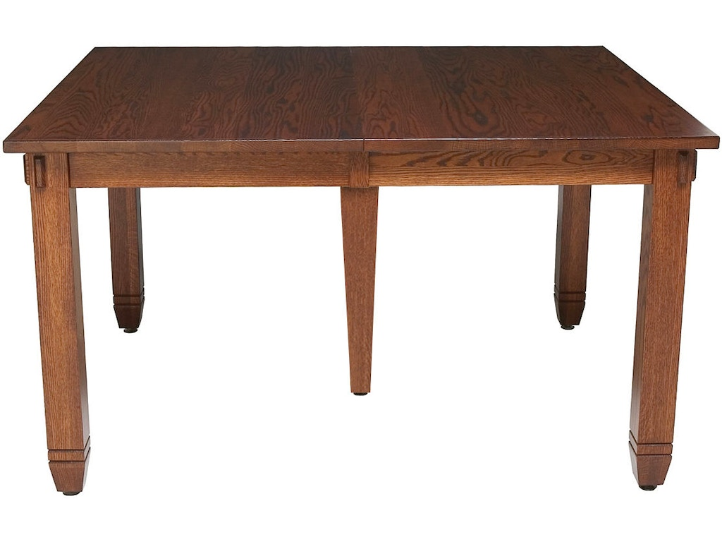 Mystic creek dining room rima 48x60 extension table mc8651 for Dining room tables milwaukee