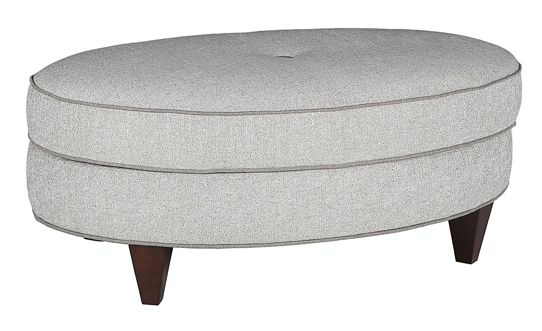 Merveilleux Marshfield Furniture Erin Oval Storage Ottoman MF1965 29