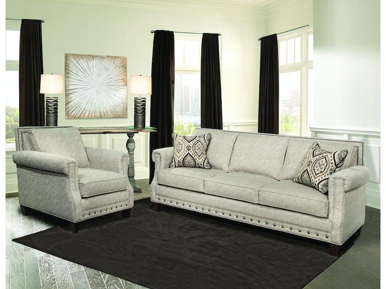 Marshfield Furniture Living Room Beckett Sofa MF1968-03 - Penny ...