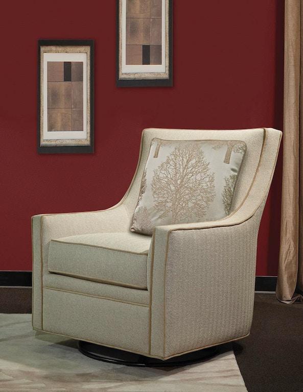 Marshfield Furniture Living Room Penny Swivel Glider