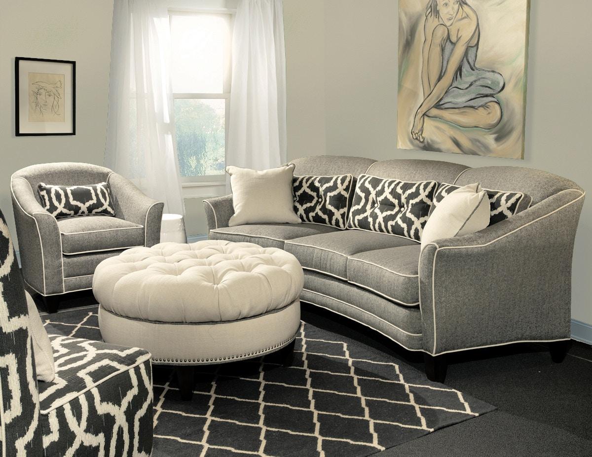 Marshfield Furniture Doris II Conversation Sofa MF1977 37