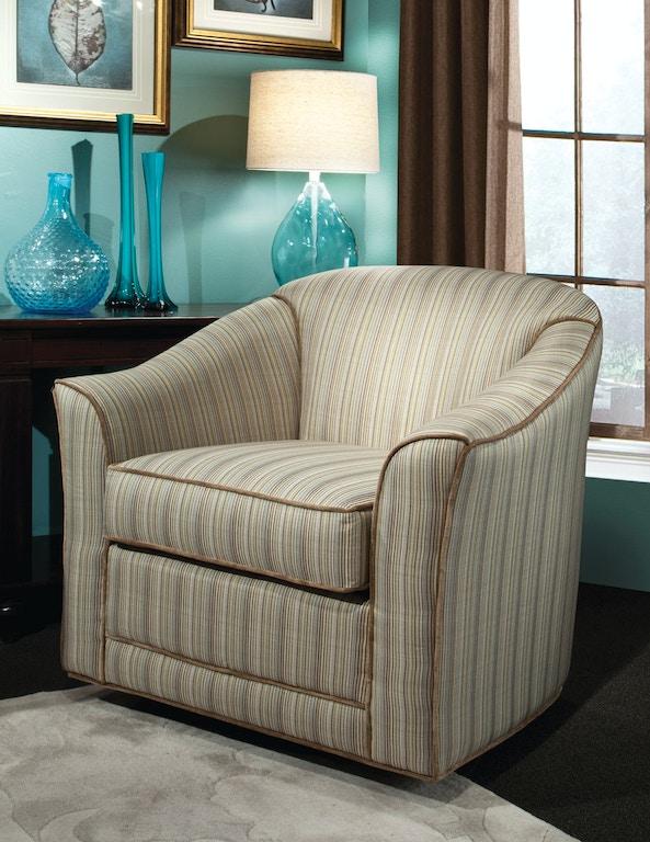 Marshfield Furniture Living Room Doris Swivel Glider