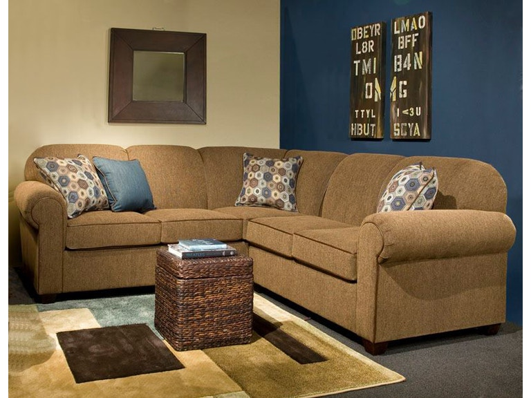 Marshfield Furniture Living Room 2 Piece Sectional Mf2281 Sect1