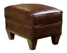 Marshfield Furniture Living Room Erin Oval Storage Ottoman