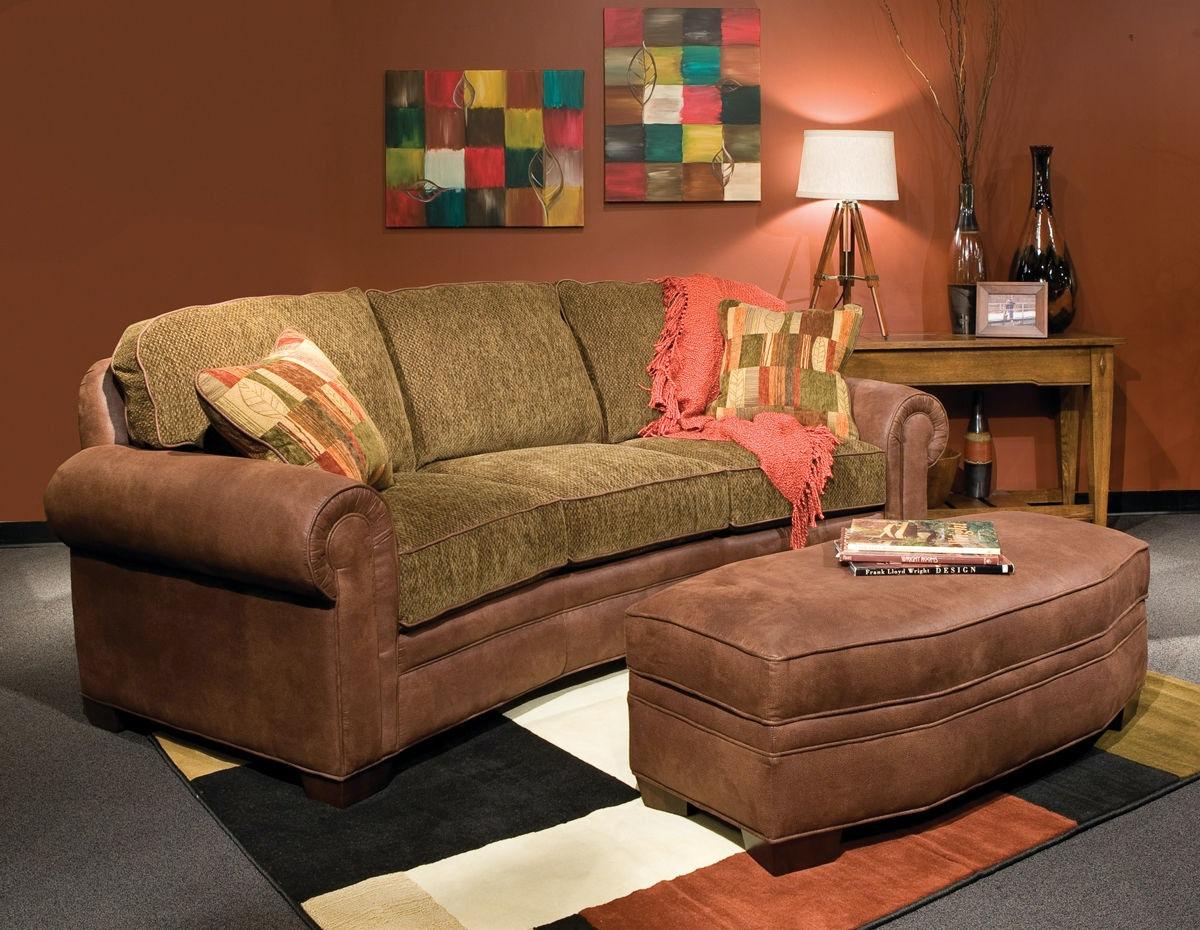 Marshfield Furniture Baldwin Conversation Sofa MF2476 37