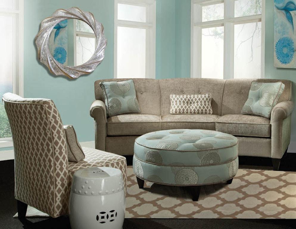 Marshfield Furniture 8000 Conversation Sofa Mf8000 37