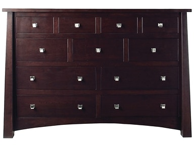 Precision Crafted Kings 11 Drawer Long Dresser PC4400