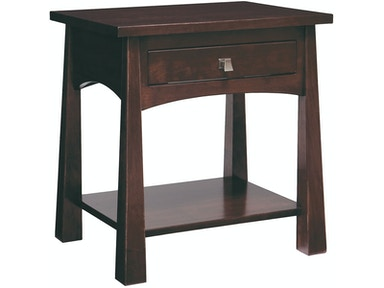 Precision Crafted Domino 1 Drawer 1 Shelf Nightstand PC4920