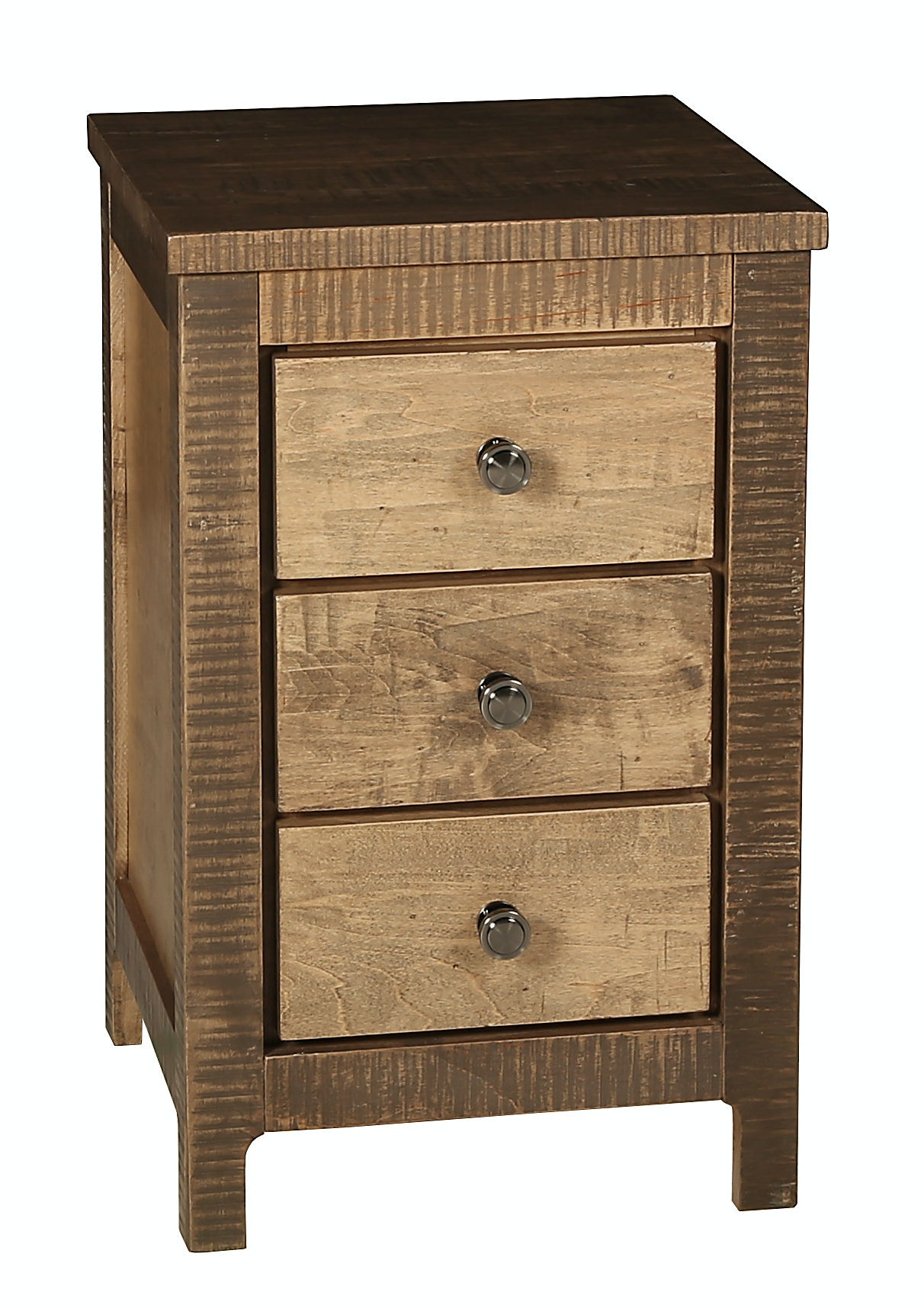 precision crafted bedroom 3 drawer narrow nightstand pc5901rmap Narrow Nightstand
