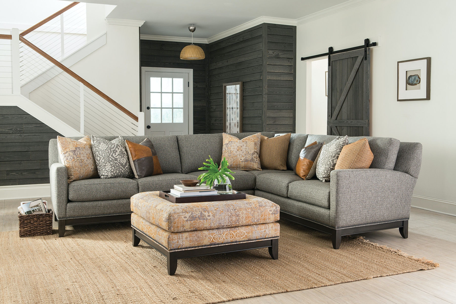 smith brothers 2piece sectional sb238sect1 - 2 Piece Sectional