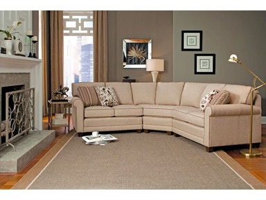 Smith Brothers 3-Piece Sectional SB366-SECT1