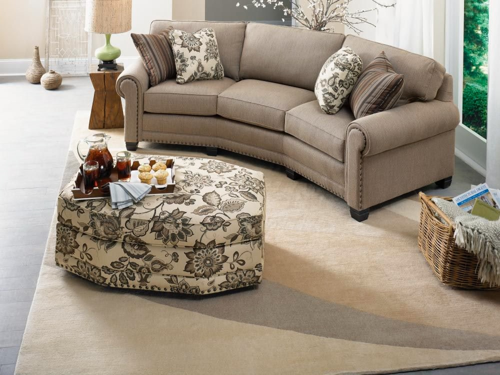 Attirant Smith Brothers 393 Conversation Sofa SB393 12