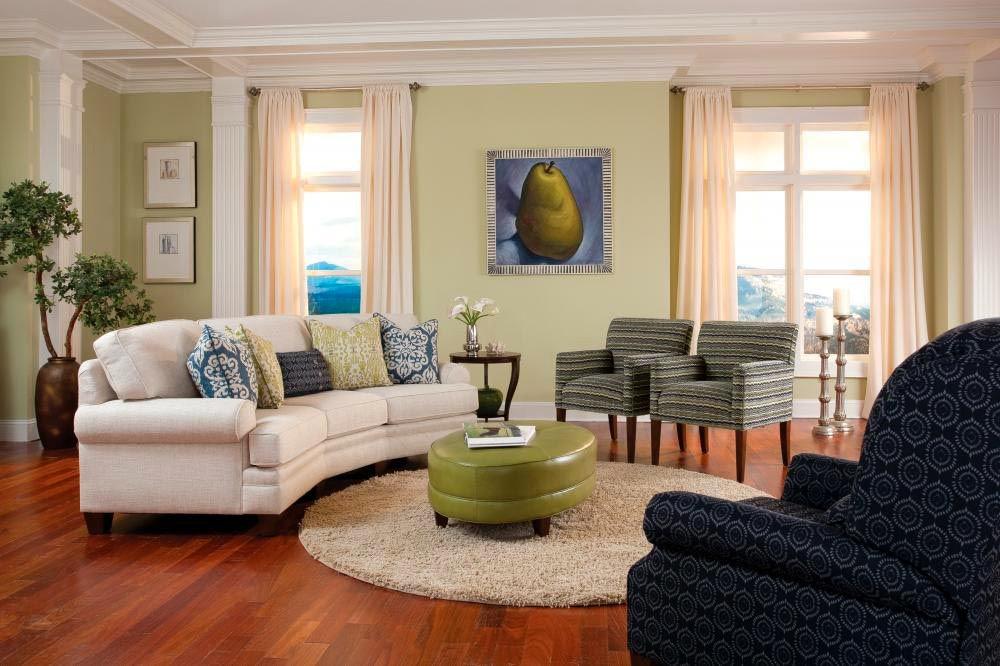 Smith Brothers Living Room 5000 Conversation Sofa SB5000 12