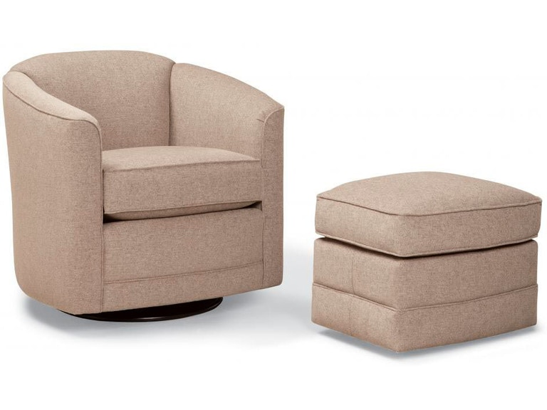 Smith Brothers Living Room 506 Swivel Glider Chair SB506-58 - Penny ...