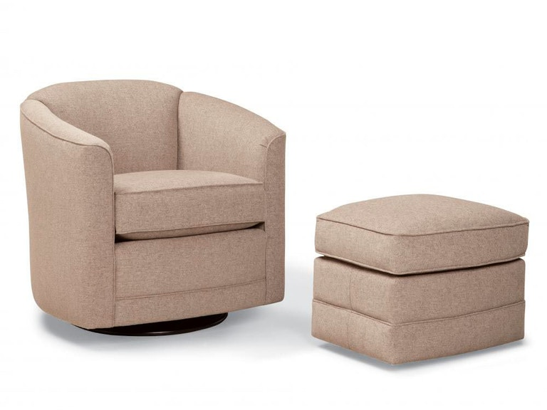 Smith Brothers Living Room 506 Swivel Glider Chair SB506-58 ...