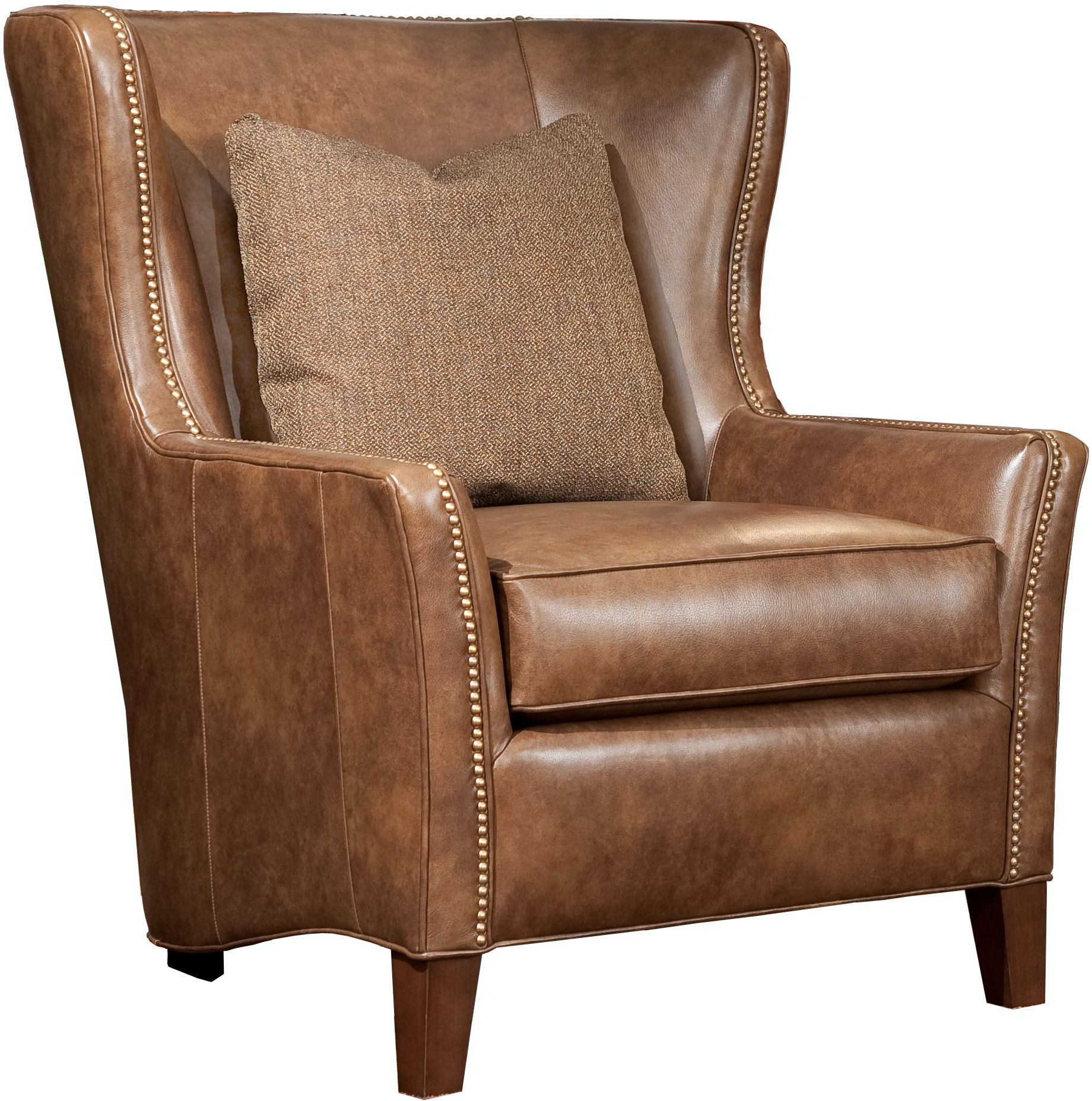 Smith Brothers Living Room 825 Chair with Down Lumbar SB825 30