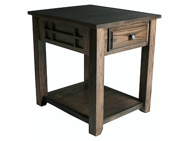 Abalone Henry 1 Drawer End Table SC2121