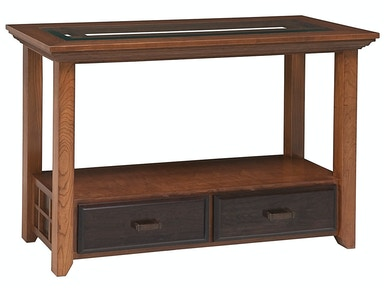 Abalone Ritta 2 Drawer Glass Console Table SC2152