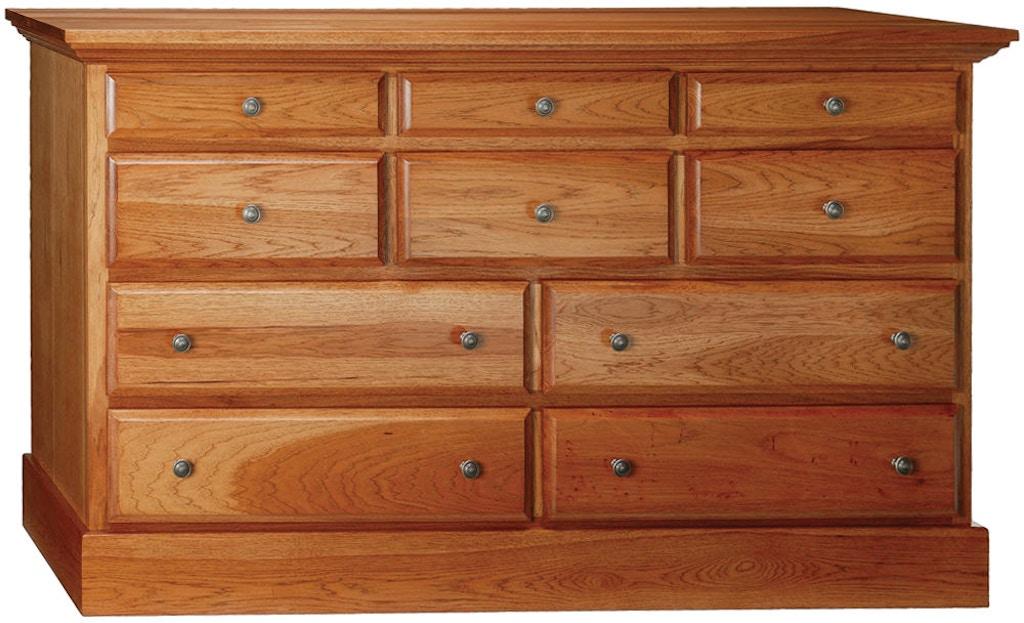 Abalone Bedroom Stoney Creek 10 Drawer Dresser Aw9410