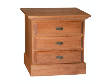 Abalone Stoney Creek 3 Drawer Nightstand SC2930
