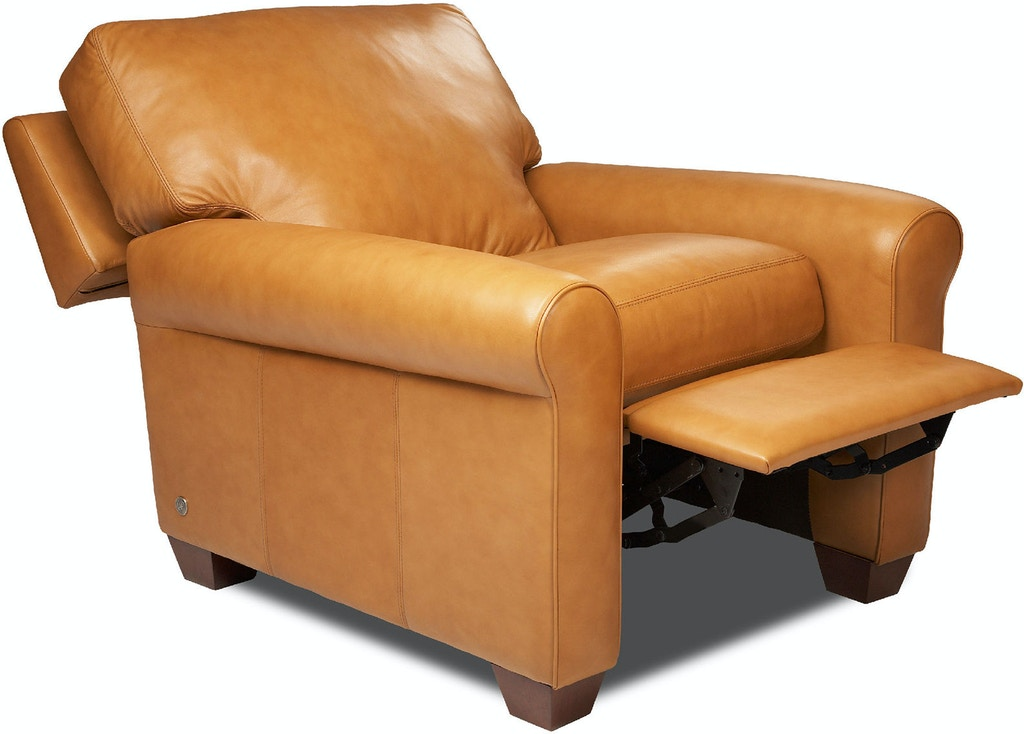 American Leather Living Room Recliner Push Arm Svy Rec St