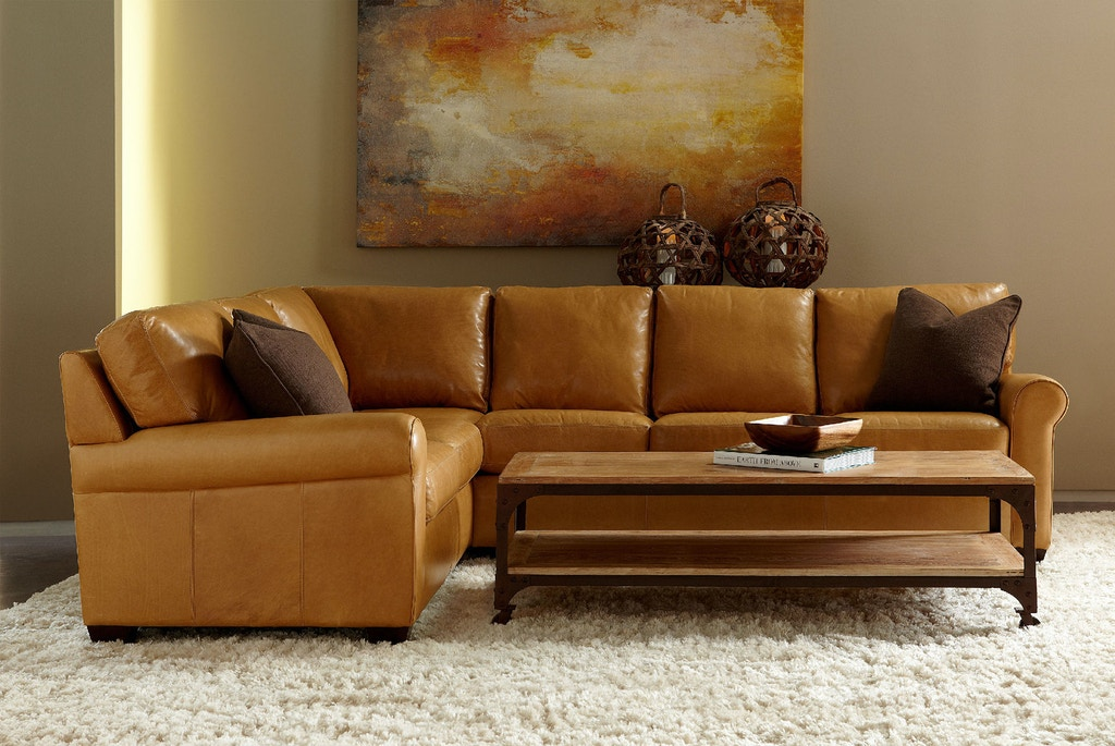 American Leather Living Room Savoy Sectional Svy Sect1