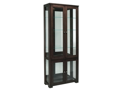 Willow Valley Fulton Double Curio Cabinet WV4166