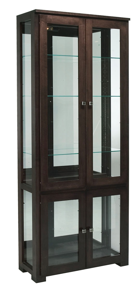 Exceptionnel Willow Valley Fulton Double Curio Cabinet WV4166