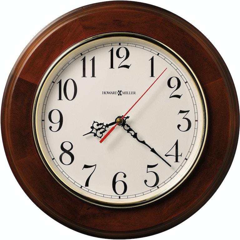 Howard Miller Accessories Brentwood Wall Clock 620168 Flemington