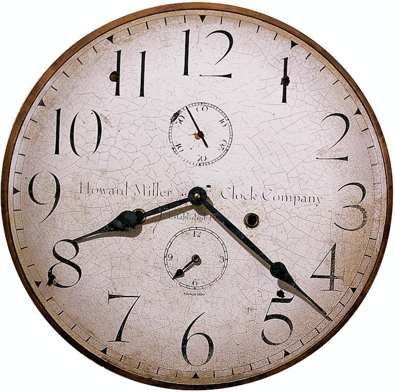 Howard Miller Accessories H Miller 18 Inch Wall Clock 620314 Carol