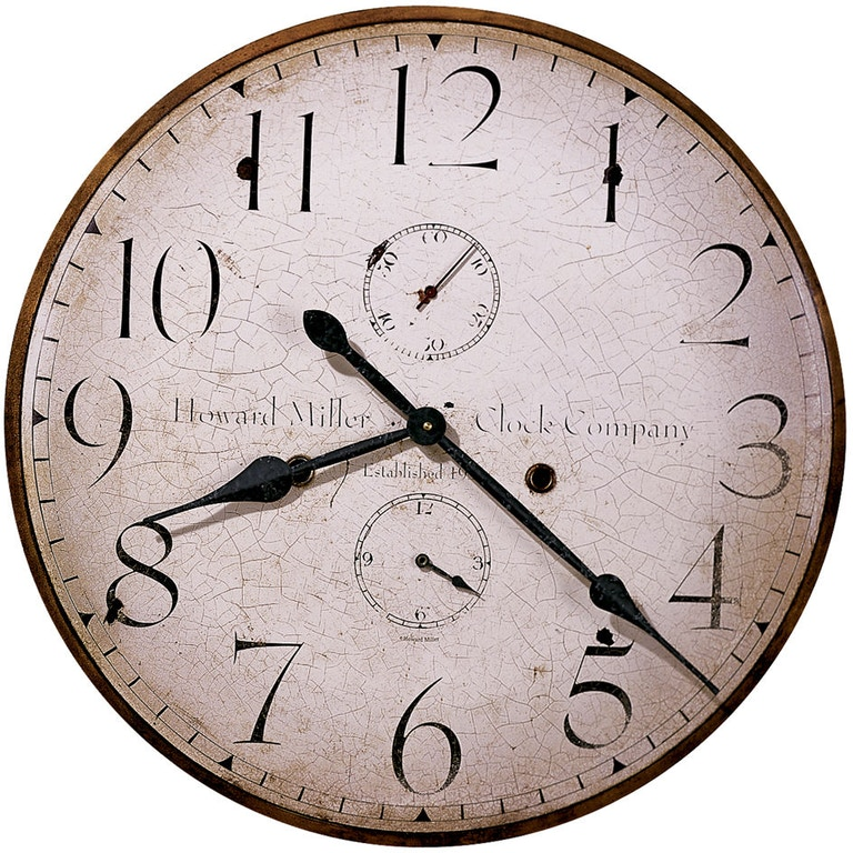 Howard Miller Accessories H Miller 25 Inch Wall Clock 620315