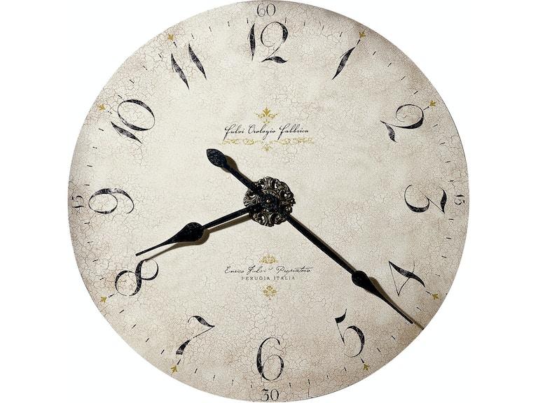 Howard Miller Enrico Fulvi 32 Inch Wall Clock 620369