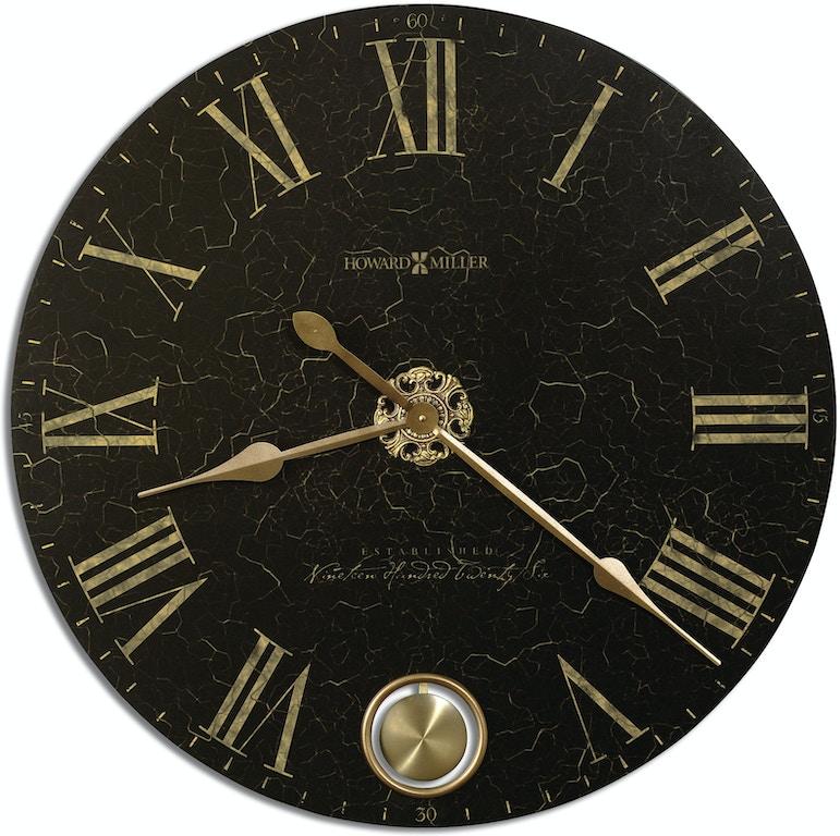 Howard Miller 620-474 Accessories London Night Wall Clock