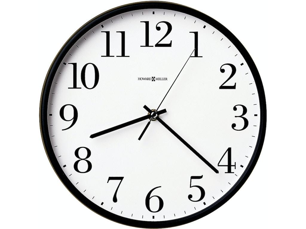 Howard Miller Accessories Office Mate Wall Clock 625254 Gormans
