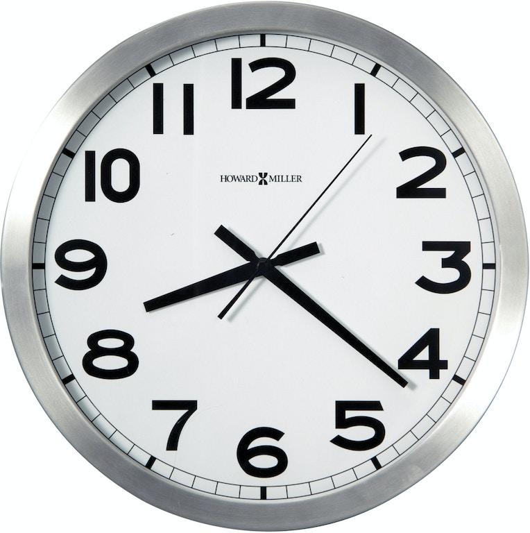 Howard Miller Accessories Spokane Wall Clock 625450 Louis Shanks