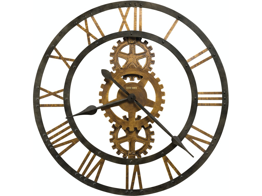 Howard miller accessories lacy wall clock 625372 flemington howard miller 625517 crosby wall clock amipublicfo Gallery