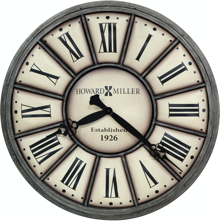 Howard Miller Accessories Company Time Ii Wall Clock 625613 Rider