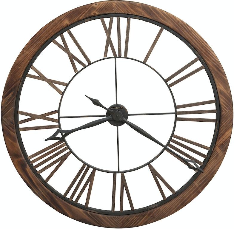 Howard Miller Accessories Thatcher Wall Clock 625623 The Furniture