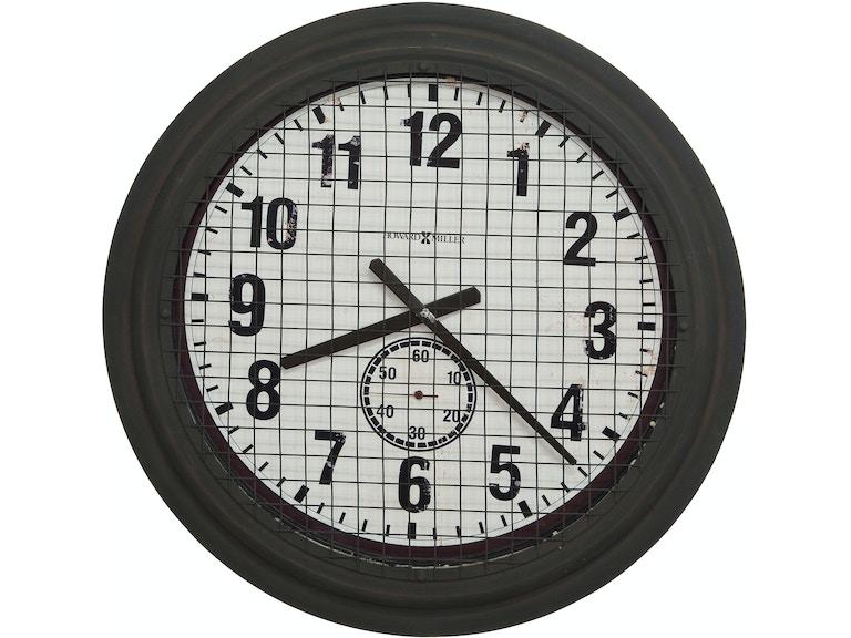 Howard Miller Grid Iron Works Wall Clock 625625