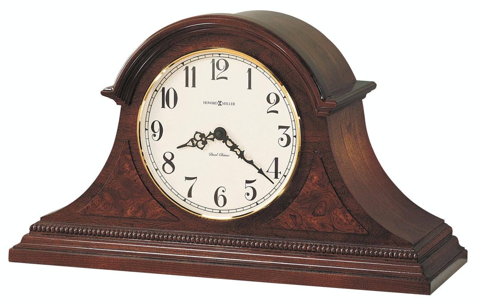 Howard Miller Fleetwood Mantel Clock 630122 From Walter E. Smithe Furniture  + Design