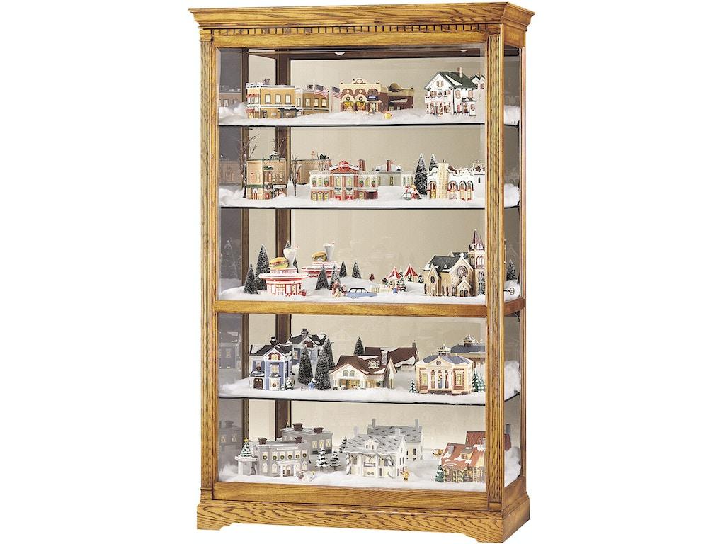 Howard Miller Living Room Parkview Curio Cabinet 680237 Carol House Furniture Maryland