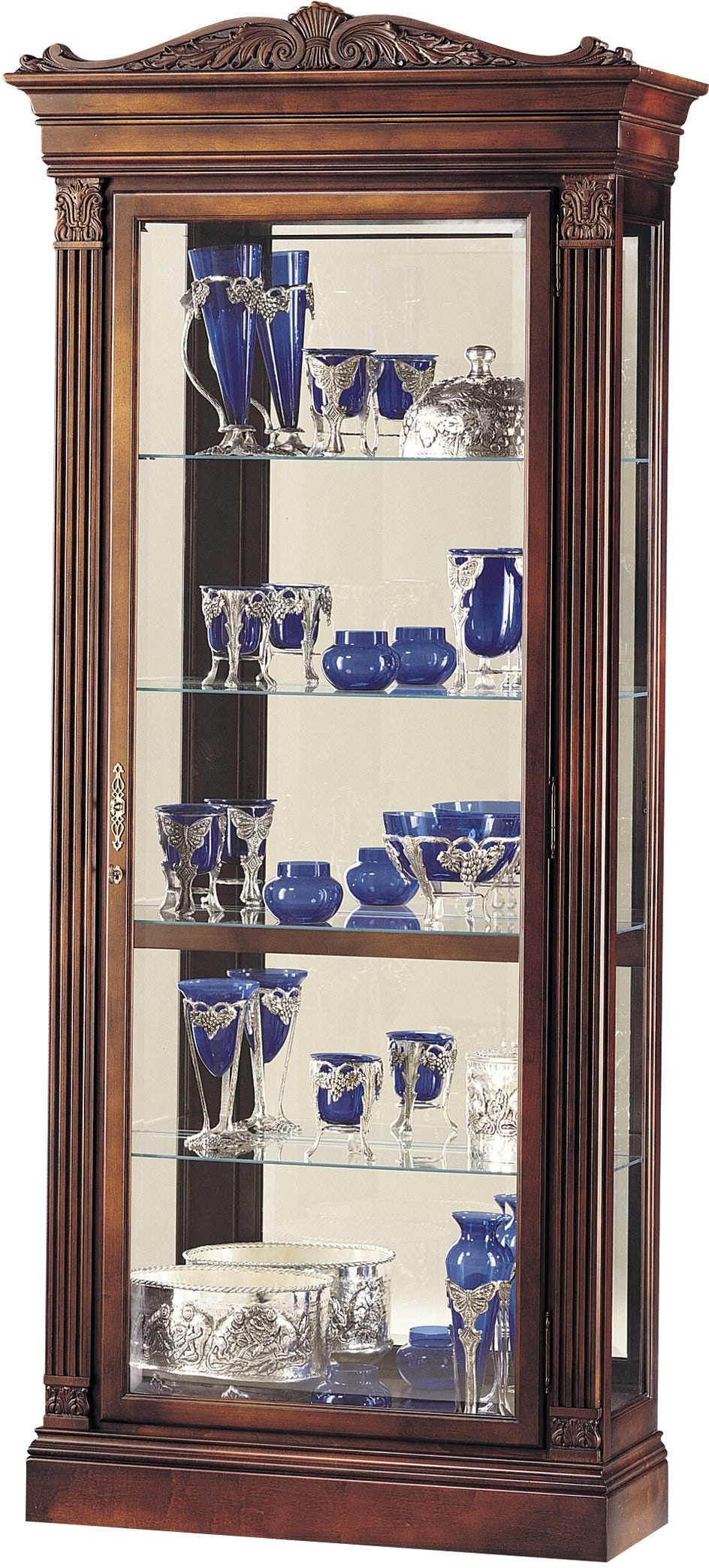 living room curio cabinets howard miller living room embassy curio cabinet 680243 13782