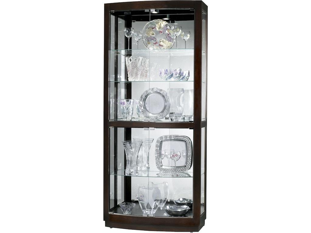 Howard Miller Living Room Bradington Curio Cabinet 680395