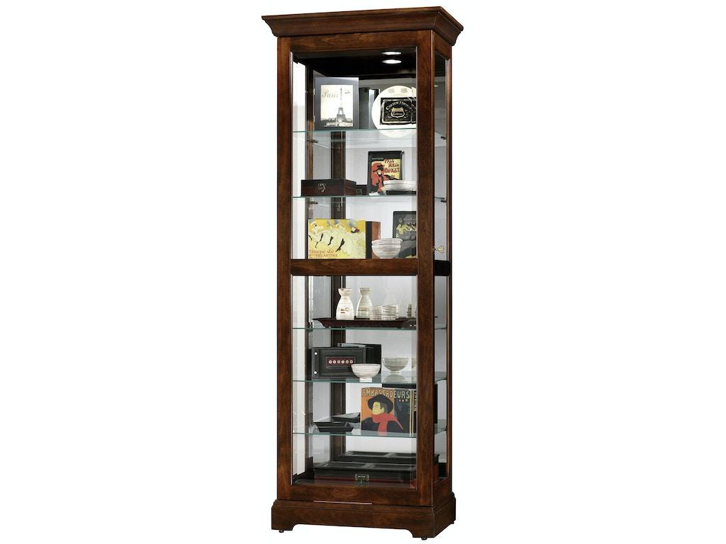 Howard Miller Living Room Martindale Curio Cabinet 680469