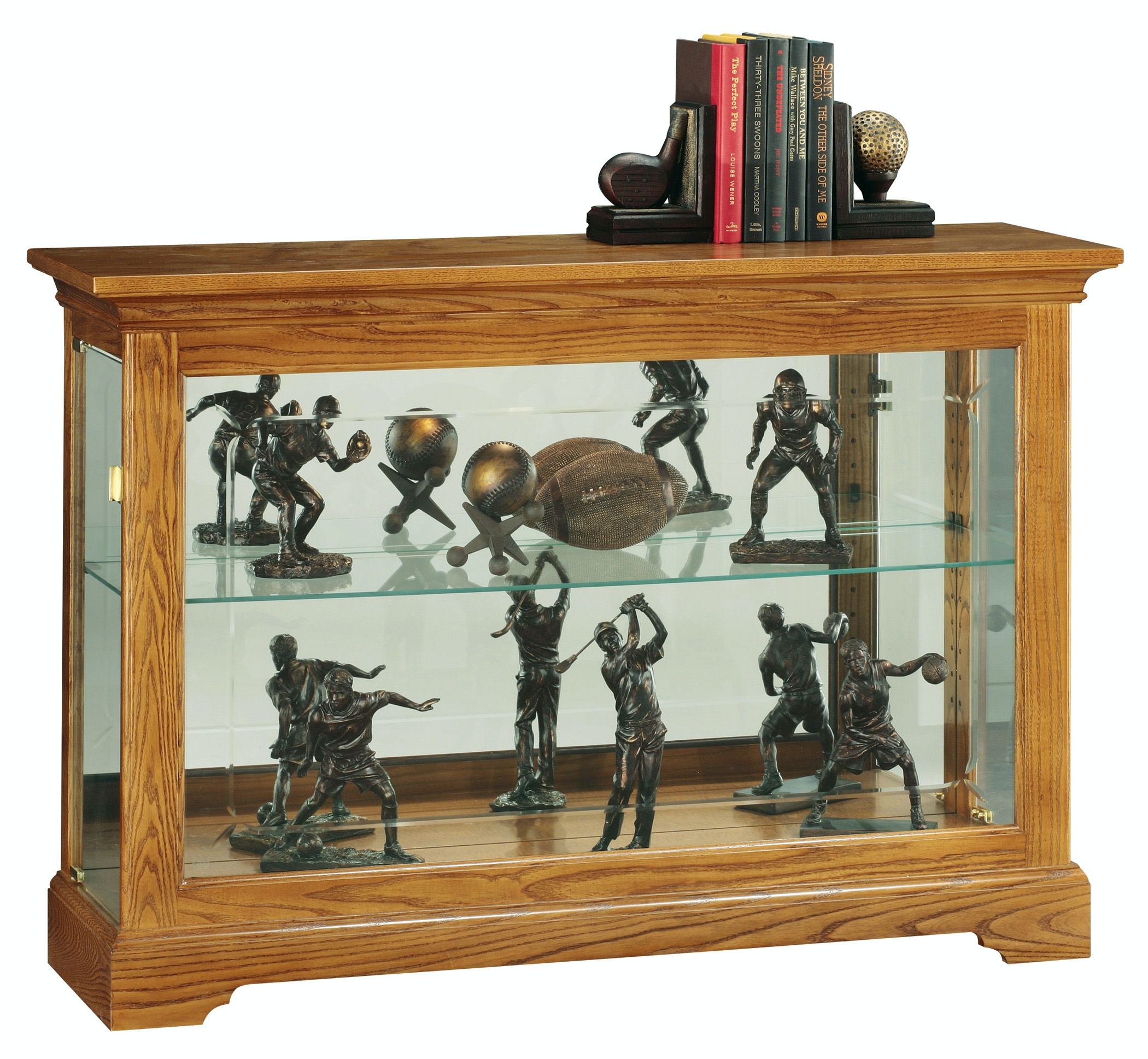 Howard Miller Living Room Burrows Curio Cabinet 680535 at Home Inspirations Thomasville  sc 1 st  Home Inspirations Thomasville & Howard Miller Living Room Burrows Curio Cabinet 680535 - Home ...