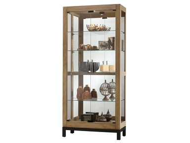 Howard Miller Quinn Cabinets Curio Display 680-598