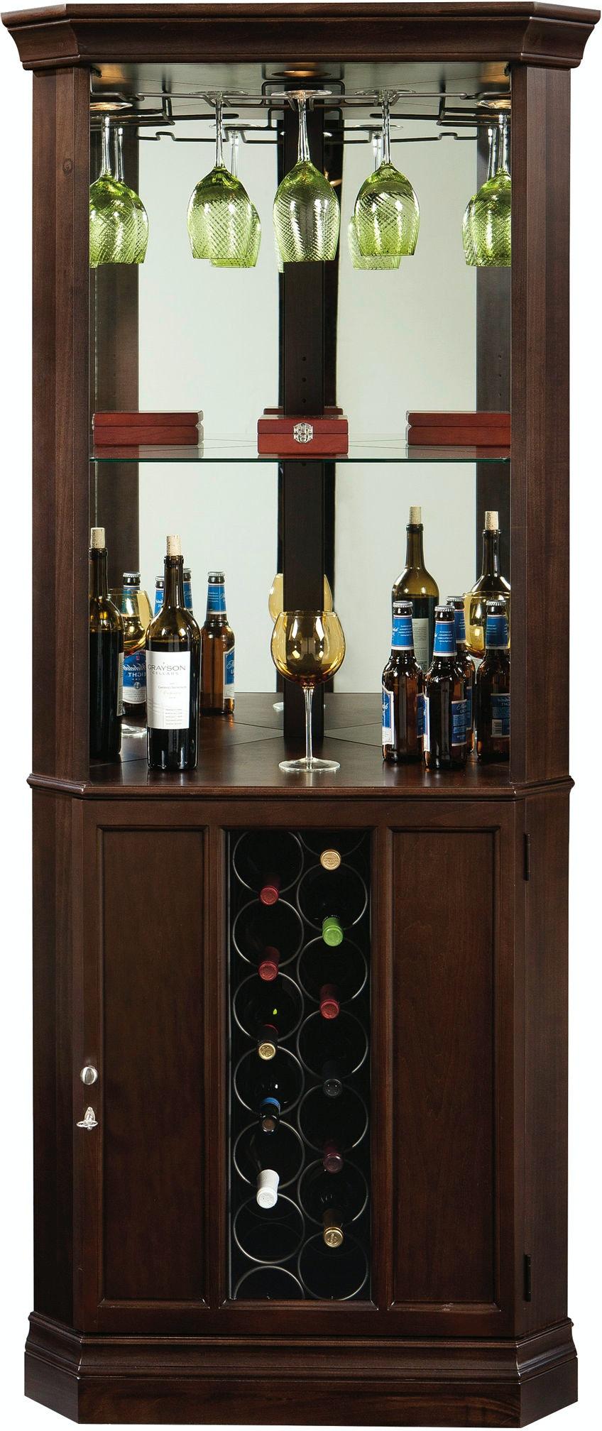 Howard Miller Bar And Game Room Piedmont Iii Wine Cabinet