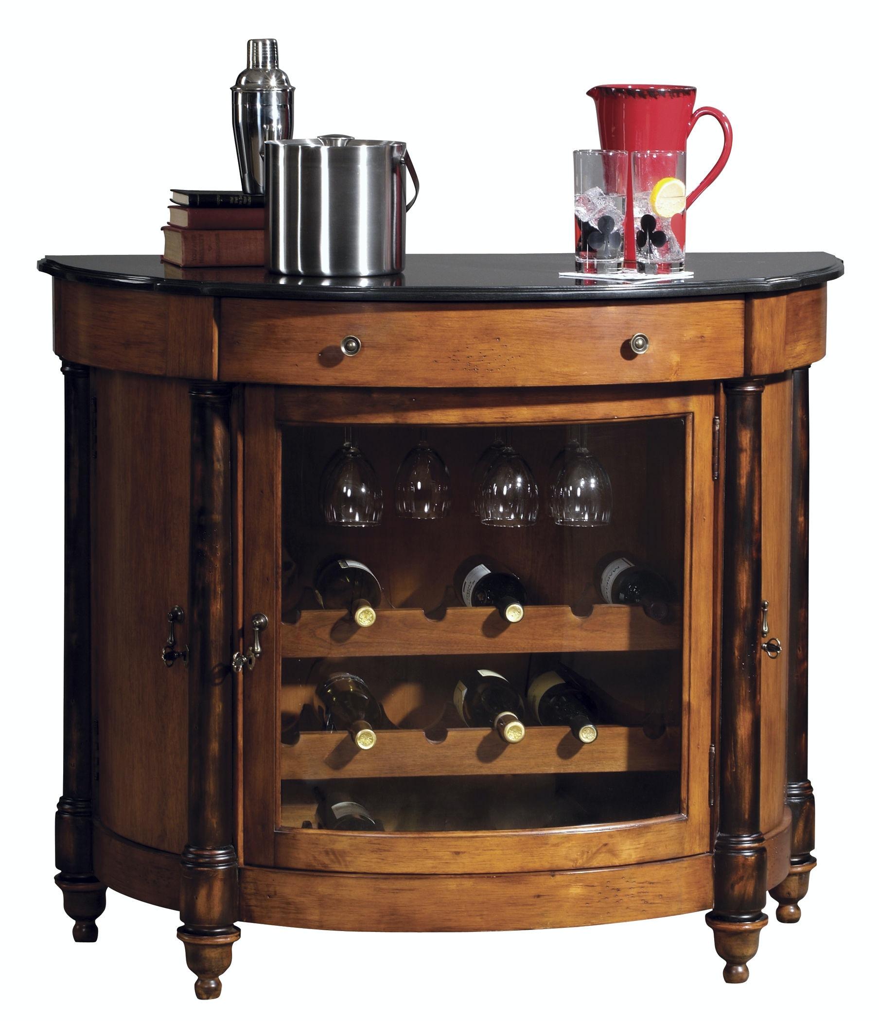 Howard Miller Bar And Game Room Merlot Valley Wine Cabinet