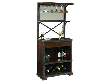 Howard Miller Red Mountain Cabinets Wine Bar 695-138