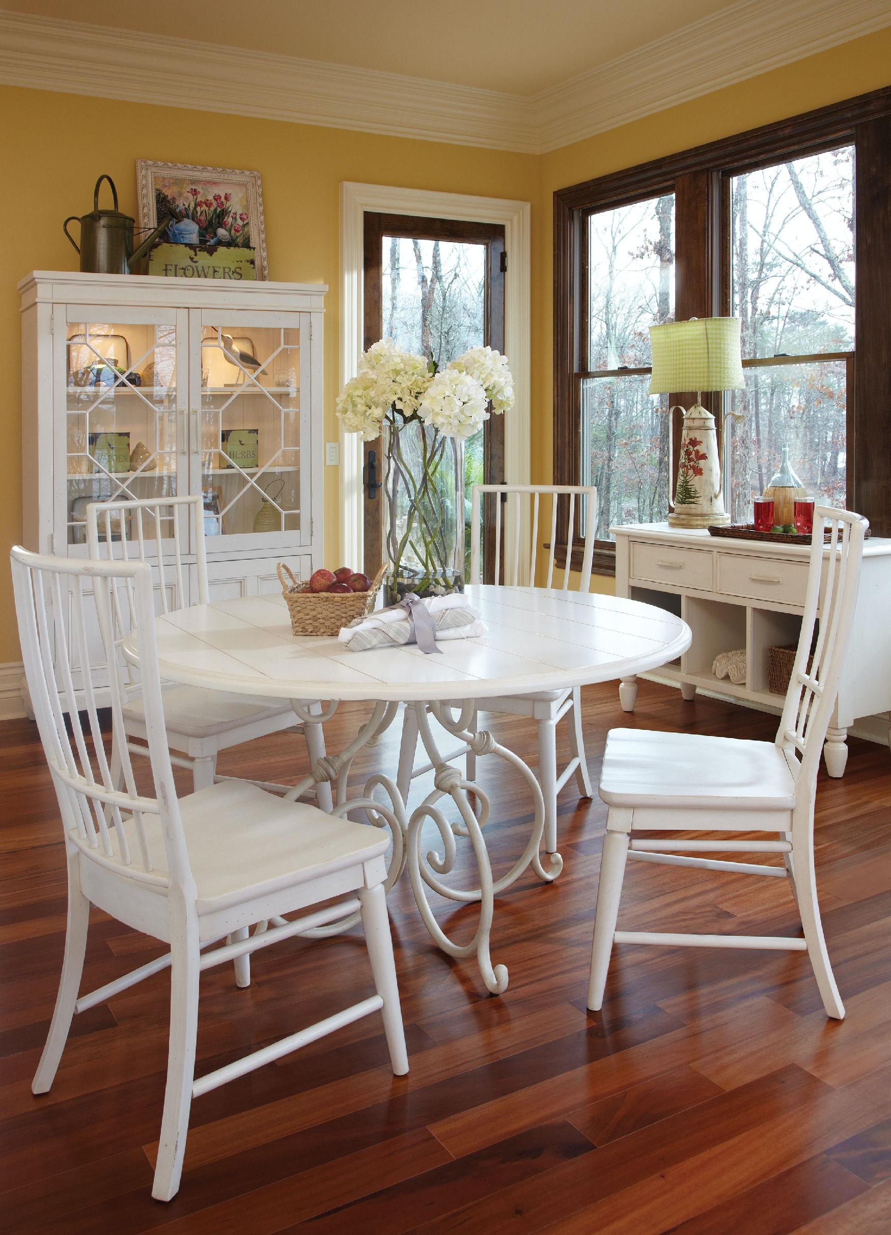 carolina preserves dining room table 424-054 drt - klaussner